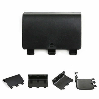$5.49 • Buy 2 X Black Battery Cover Lid Shell Door Replacement For Xbox One Controller