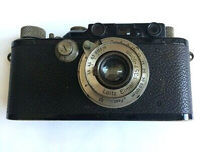 £972.45 • Buy Rare Leica III(model F) Black Painted Tiranty Paris In Very Good Condition