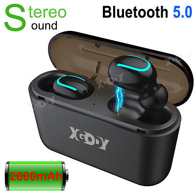 Bluetooth 5.0 Wireless Headphones TWS Earphones Mini In-Ear Pods For IOS Android • 17.99£