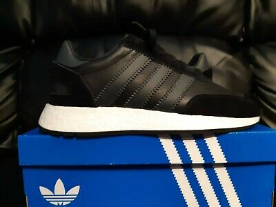 $ CDN164.99 • Buy Men's Adidas Originals I-5923 Core Black Leather Iniki Boost (BD7798) Size 9.5