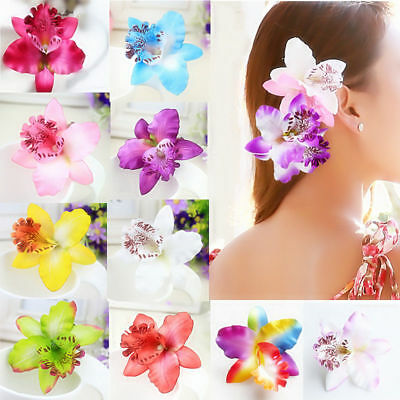 $ CDN2.52 • Buy Hair Clip Flower Hair Claws Clips Hair Accessories For Women Girls Hair Crab