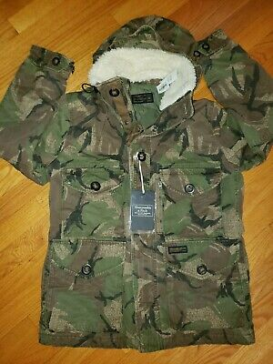 $40 • Buy Abercrombie & Fitch**Mens**Combat Army Cargo* Coat, Jacket*EX-Small* (NWT) SCORE