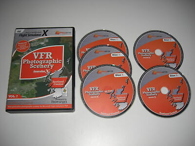 VFR SCENERY Generation X Scotland Central Vol 7 Pc Add-On Flight Simulator X FSX • 57.99£
