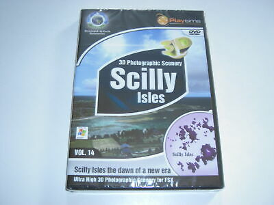 SCILLY ISLES Pc Photographic Scenery Add-On Microsoft Flight Simulator X FSX NEW • 24.99£