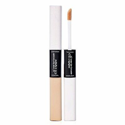 $5.09 • Buy 1pc E.l.f. Under Eye Concealer And Highlighter, Glow Fair, 0.34 Oz