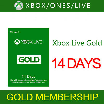 $3.19 • Buy XBOXLIVE 14 Days Gold Trial Membership Code-xboxone ONLY