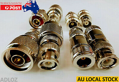AU3.95 • Buy 4x Variants N Type To BNC Male To Female Converters Connectors Adapters