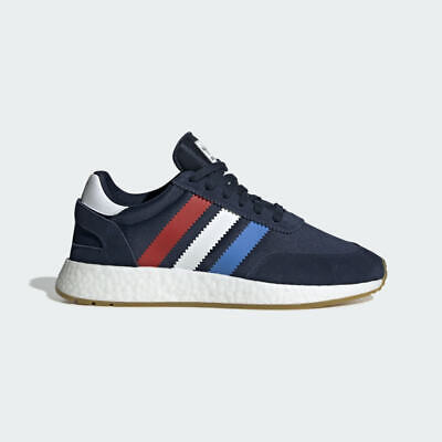 $ CDN159.97 • Buy Adidas Originals Men's I-5923 Boost Red Navy Blue Running Shoes BD7814