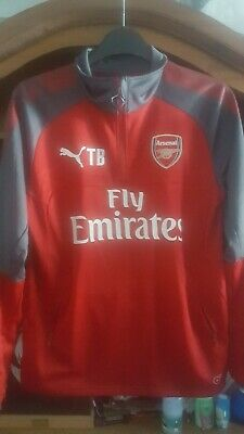 Player Issue Arsenal FC Warm Midlayer Training Top Shirt -MEDIUM TB  • 49.99£