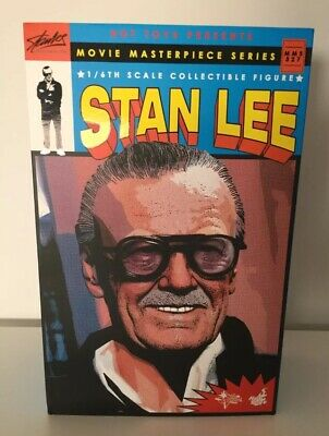 AU1500 • Buy Hot Toys 1/6 Marvel Mms327 Stan Lee Movie Masterpiece Action Figure