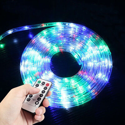 US LED Strip Rope Lights Fairy String Light Christmas Xmas Decor Outdoor Indoor • 16.99$