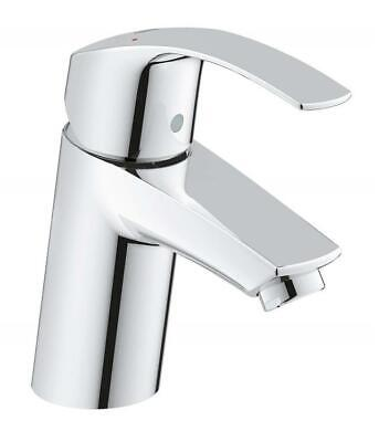 GROHE 3246720L Eurosmart Basin Tap With Smooth Tap Body, High Or Low Pressure • 66.34£