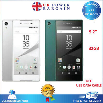 AU207.70 • Buy SONY Xperia Z5 E6653 Black White Gold Green 32GB Android Unlocked Mobile Phone