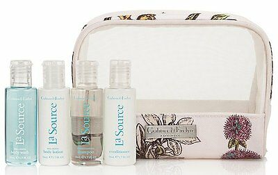 Crabtree & Evelyn La Source Travel Set - 4 Items (RRP £20)+ Free Travel/Gift Bag • 14.95£
