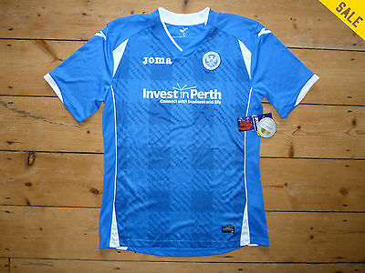 £10.99 • Buy ST JOHNSTONE SHIRT Age 12/14 Years HOME Soccer Jersey PERTH SAINTS 2015-16 Top