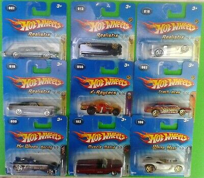 £7.99 • Buy Vintage 2005 Hot Wheels Cars On Short Cards  (Your Choice)