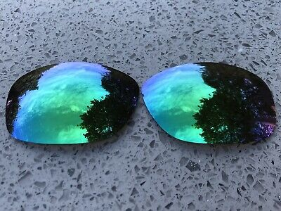 New Custom Green Mirrored Replacement Lenses For Oakley Ten X • 16.99£