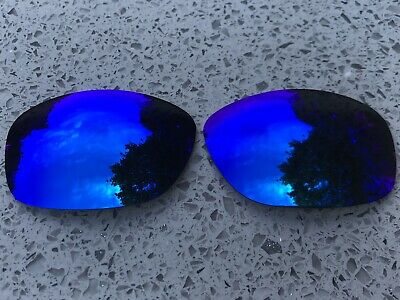 New Custom Sea Blue Mirrored Replacement Lenses For Oakley Ten X • 16.99£