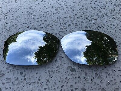 New Custom Chrome Silver Mirrored Replacement Lenses For Oakley Ten X • 16.99£