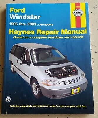 $10 • Buy 1995-2001 FORD Windstar, All Models - Repair And Service Workshop Manual (36097)
