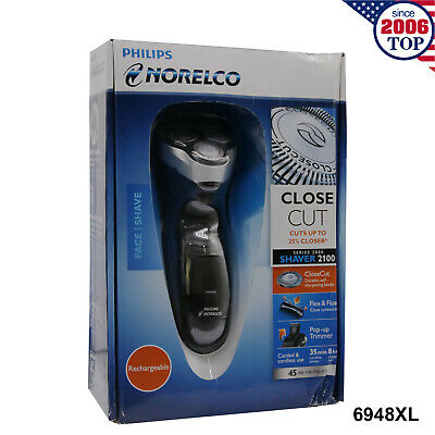 AU84.95 • Buy New Philips Norelco 6948XL Electric Shaver Rechargeable  Razor CloseCut Cordless