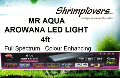 AU269 • Buy 4FT Mr Aqua Arowana Full Spectrum LED Llight, Perfect For Planted Fish Aquariums