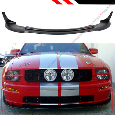$112.99 • Buy For 2005-09 Ford Mustang Gt V8 Cv 3 Style Front Bumper Lip Chin Spoiler Splitter