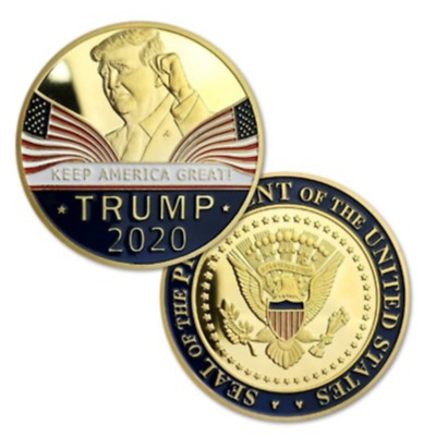 AU4.82 • Buy United States President Donald Trump 2020 KEEP AMERICA GREAT Gold Eagle Coin New