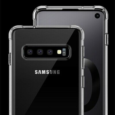 $ CDN3.46 • Buy Case For Samsung Galaxy S10 Plus S10e S10 S9 S8 Shockproof Clear Silicone Cover