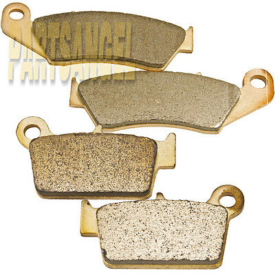 $18.68 • Buy F+R Sintered Brake Pads For Yamaha YZ125 YZ250 YZ250F YZ450F 2003-2007 2006 2005
