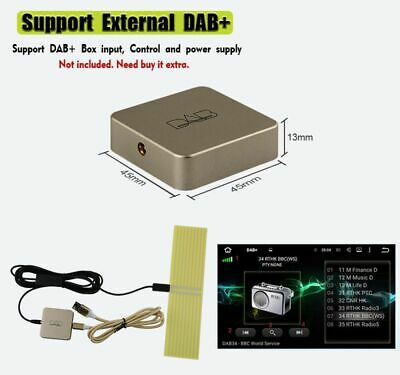 External DAB+ Digital Radio Tuner Box W/Amplified Antenna For Android Car Stereo • 41.24£