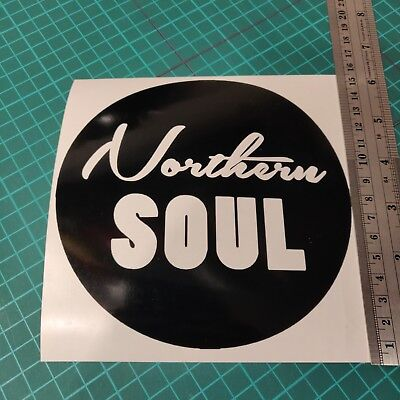 Northern Soul Circle - Car/Van/Camper/Bike Decal Sticker Vinyl Graphic • 2.49£