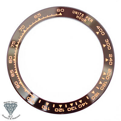 $ CDN134.40 • Buy Brown Rose Gold Ceramic Bezel Insert For Rolex Daytona Watches 116500 116520