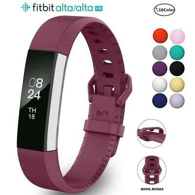 AU5.89 • Buy For Fitbit Alta Alta HR Strap Wrist Band Secure Buckle Bracelet Fitness Tracker