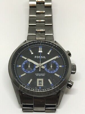 $22.99 • Buy Fossil Watch Parts Men's Case Bracelet No Movement Doesn't Work Band CH2970 P417
