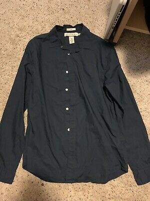 H&M H M Label Of Graded Goods Slim Fit Dress Shirt Button Up • 10.99$