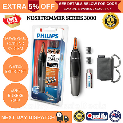 AU38.66 • Buy PHILIPS Mens Electric Nose Ear Eyebrow Hair Trimmer Shaver Clipper Ultra-Precise