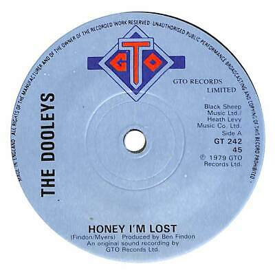 The Dooleys - Honey I'm Lost - 7  Single • 2.75£