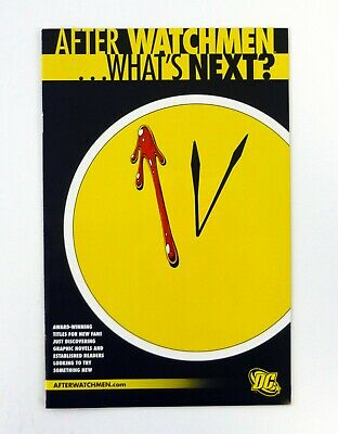 £2.12 • Buy AFTER WATCHMEN WHAT'S NEXT DC Comics Preview List Advertisement  NM+ 2009