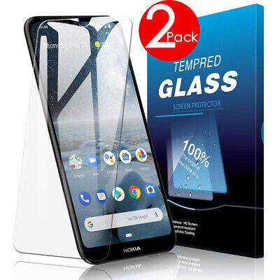 AU4.49 • Buy 2 PACK 9H Tempered Glass Screen Protector For Nokia 1.3 /5.3 /4.2 /3.4/2.2 /2.3