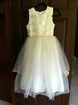$14.99 • Buy Girls Special Occasion Dress Sugar Plum Size 12