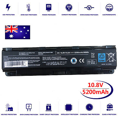 AU49.95 • Buy Battery For Toshiba Satellite C850-BLK C850-BMK C850-BPK C850-BQK Laptop