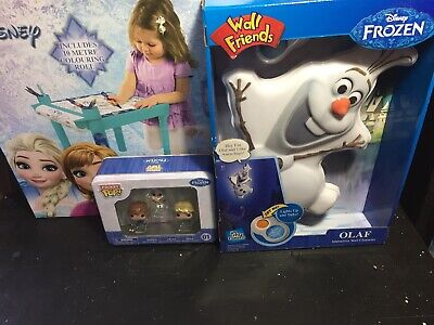 £29.08 • Buy Disney Frozen Coloring Table Olaf Wall Character And Pocket Pop By Funko