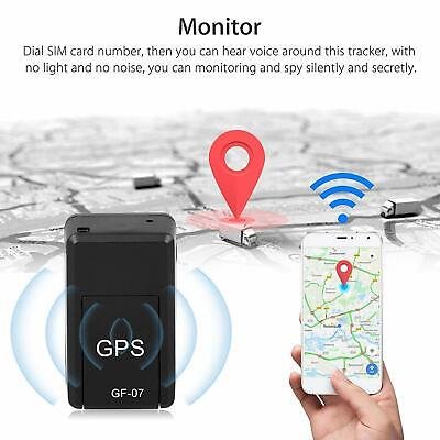 Mini GPS Tracker Magnetic Car Kids GSM GPRS Real Time Tracking Locator Device • 9.99£