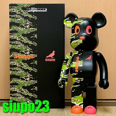 $1099.99 • Buy Medicom 1000% Bearbrick ~  Atmos X Staple #2 Be@rbrick