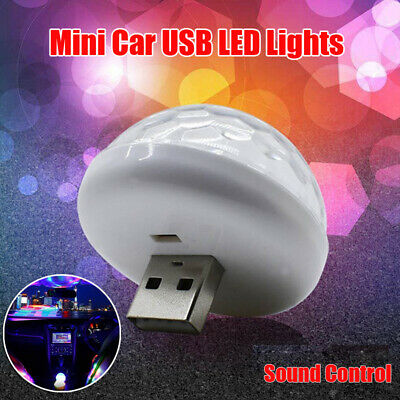 $2.31 • Buy Accessories Car Atmosphere Light 1pc USB Socket LED Colorful 3W 5V White