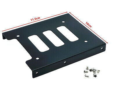 AU5.69 • Buy 1x PC Metal 2.5  To 3.5  SSD To HDD Mounting Adapter Bracket Hard Drive Holder