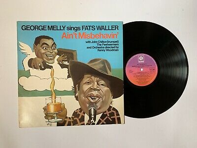 George Melly With John Chilton, The Feetwarmers And Kenny Woodman, LP • 11£