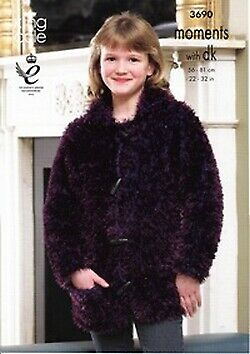 £3.29 • Buy Moments - Girls Jacket And Coat Pattern 3690 - D