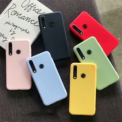 AU3.64 • Buy For Huawei Y5 Y6 Y7 Y9 Prime 2019 Slim Soft Silicone Matte Skin TPU Case Cover